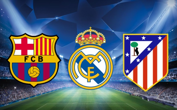 La Liga, Atletico Madrid, Real Madrid, Barcelona